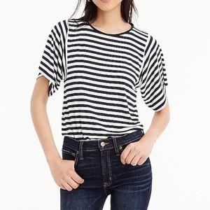 J.CREW S Mixed Stripe T-Shirt